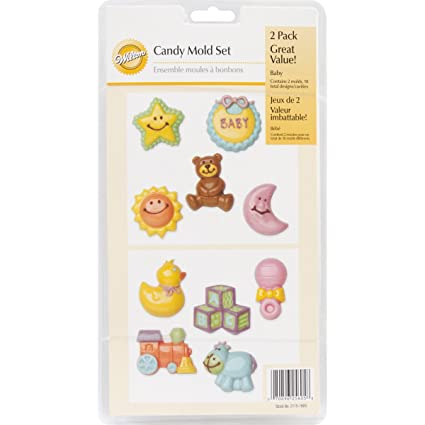 Amazon.com: Wilton Baby Candy Mold Set: Candy Making Molds: Kitchen & Dining