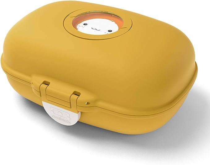 monbento - MB gram Amarillo Moutarde Caja merienda para niños - sin BPA - Segura y Duradera: Amazon.es: Hogar