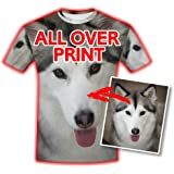 NICTIME Custom Tshirts Add Design Your Own For Men Front And Back Print