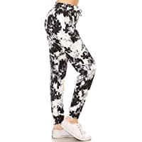 0634f8cf1414a Leggings Depot Premium Jogger Women s Popular Print High Waist Track  Pants(S-XL)