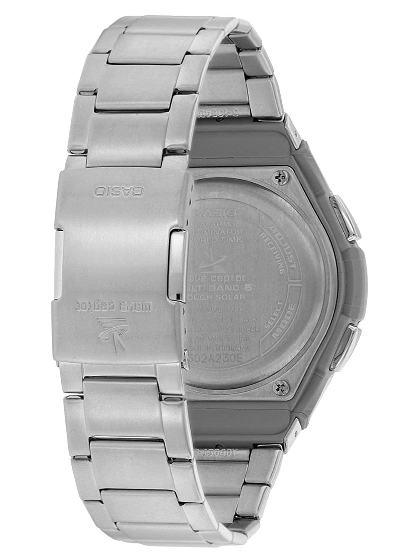 Casio Reloj Analógico-Digital para Hombre de Energía Solar con Correa en Acero Inoxidable WVA-M650D-1A2ER: Amazon.es: Relojes
