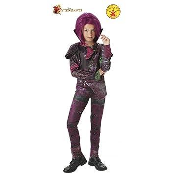 Los Descendientes - Disfraz de Mal Deluxe para niña, 5-6 años (Rubies 620374-M): Amazon.es: Juguetes y juegos