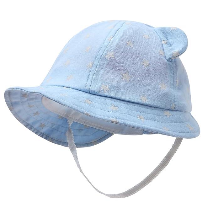 d2a46fe22e5 vivobiniya Newborn Boy Summer Hats Baby Sun Hats Little BearToddler Hat 0-2y   Amazon.com.au  Fashion