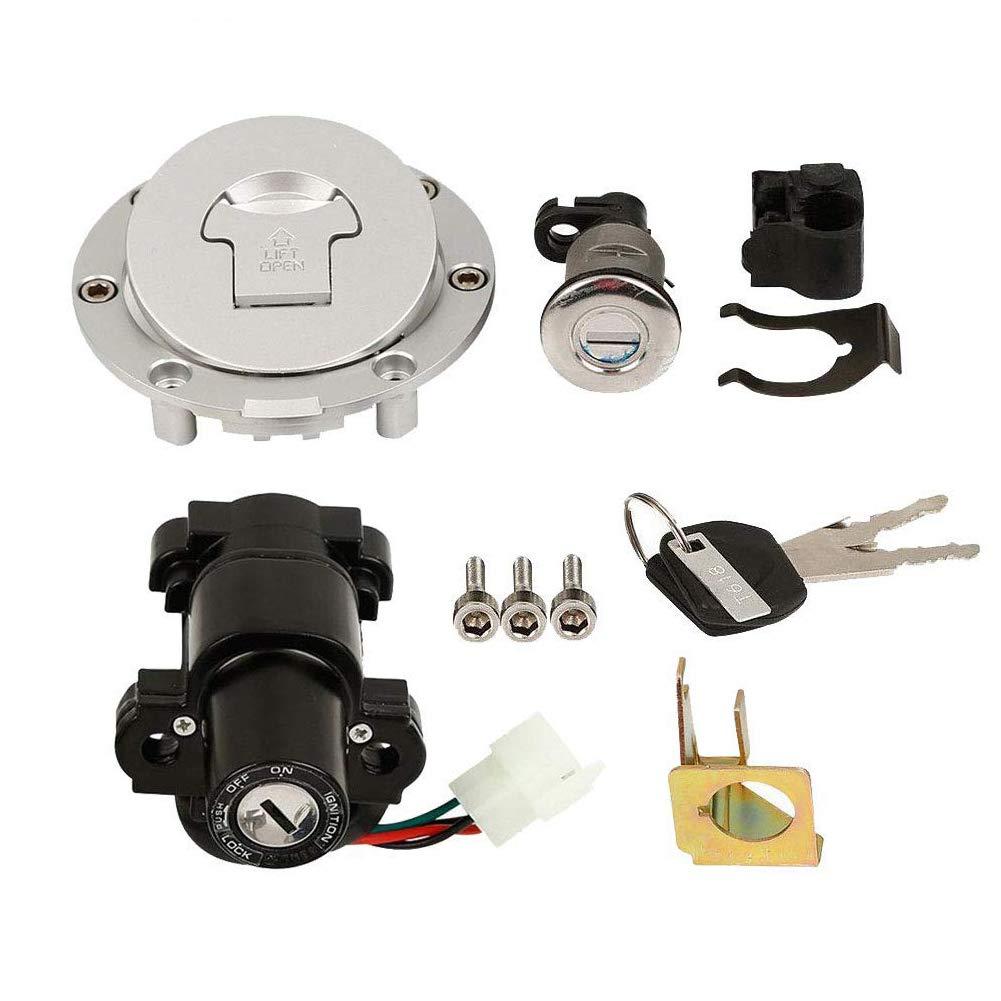Ignition Switch Lock Fuel Cap Gas For Honda CBR600 F4 F4I 1999 2000 2001 2002 by sportuli