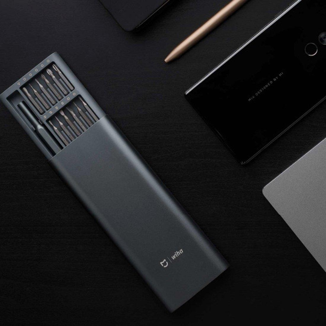 Intelligente Elektronik Effizient Original Xiaomi Mijia Wiha Schraubendreher Kit 24 Präzision Magnetische Bits Alluminum Box Schraubendreher Werkzeug Für Den Täglichen Gebrauch Intelligente Haustechnik