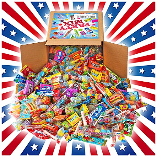 Party Mix - 4 Pound BOX - Individually Wrapped Candies - Assorted Candy