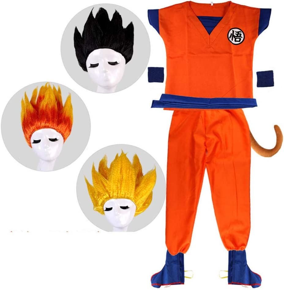 RunJuWuYe Disfraz de Dragon Ball Goku Traje Hijo Disfraces de ...