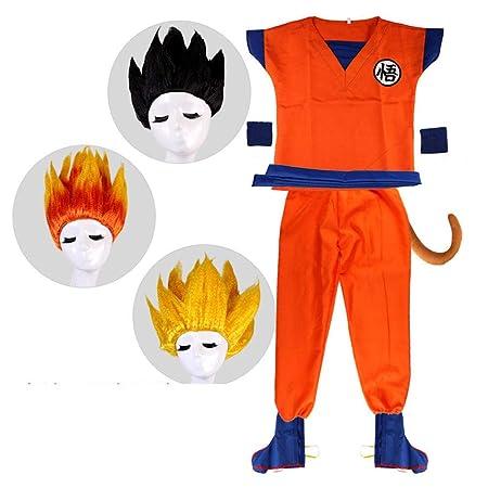 RunJuWuYe Disfraz de Dragon Ball Goku Traje Hijo Disfraces ...