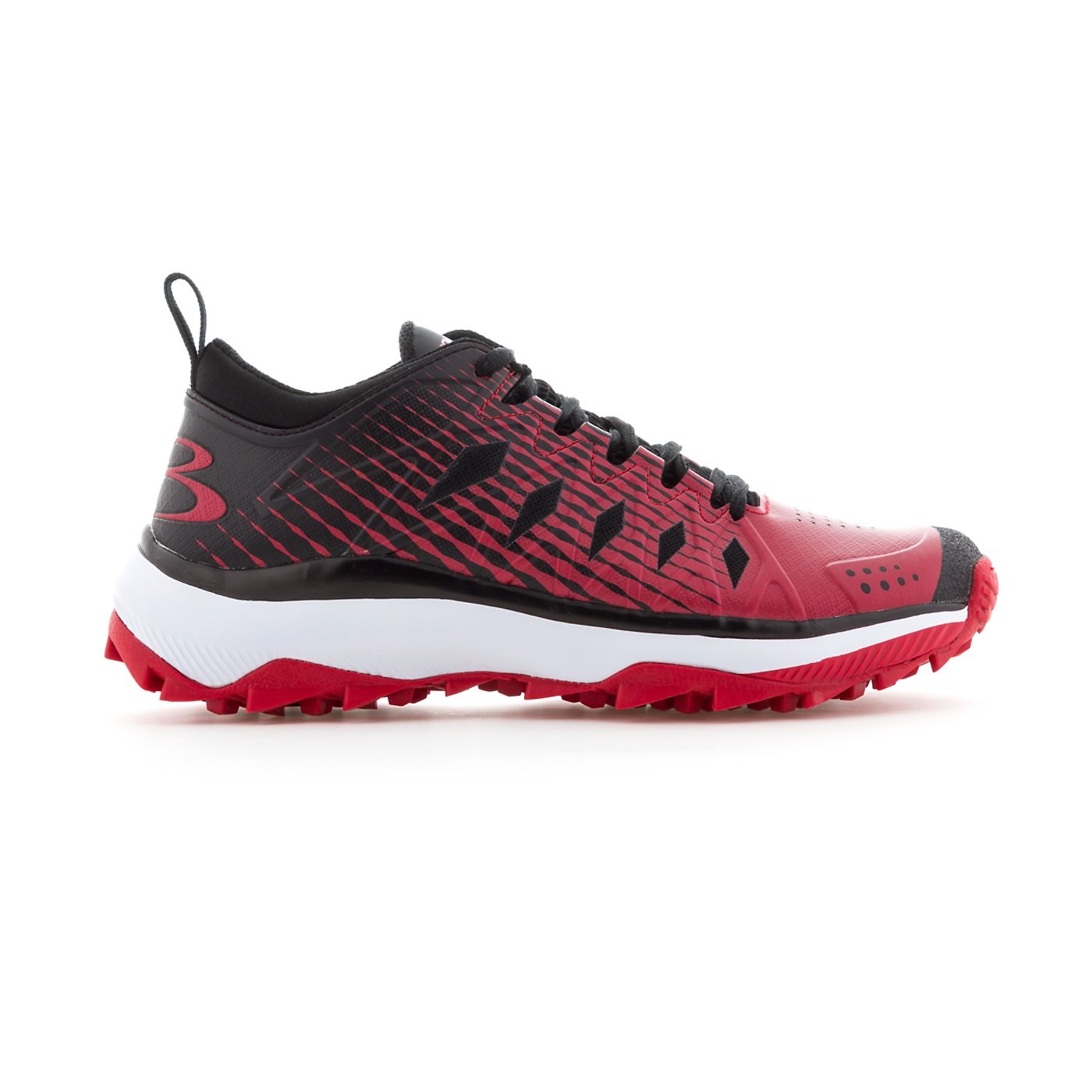 Boombah - Women's Squadron Turf Shoes - 14 Color Options - Boombah Multiple Sizes B079JZXVQN 8.5|Black/Red 712aaf