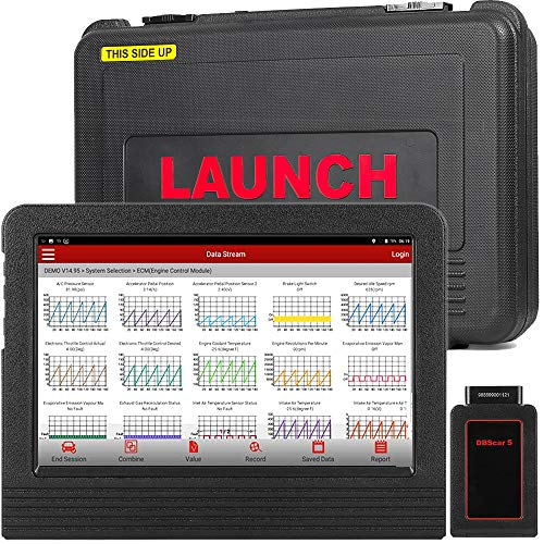 LAUNCH X431 V Pro Bidirectional Diagnostic Tool All Systems ECU Coding, Key  Program, Matching,DPF, BMS, IMMO Injector ABS,Oil Lamp,TPMS, EPB Reset-