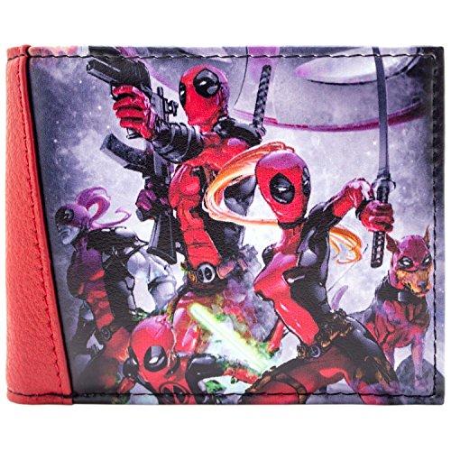 Marvel Deadpool Teamkämpfe Rot Portemonnaie Geldbörse XcJg8hhBM