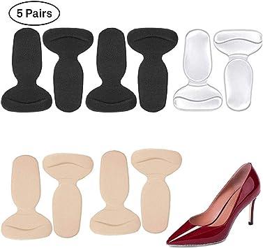 4//8x Women Back Shoe Insole Pad Anti Slip Shoe Cushion High Heel Liner Grip
