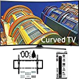 Beach Camera Samsung UN55KU6500 - Curved 55-Inch 4K Ultra HD LED Smart TV w/Tilt Wall Mount Bundle includes TV, Flat & Tilt Wall Mount Ultimate Kit and 6 Outlet Power Strip with Dual USB Ports