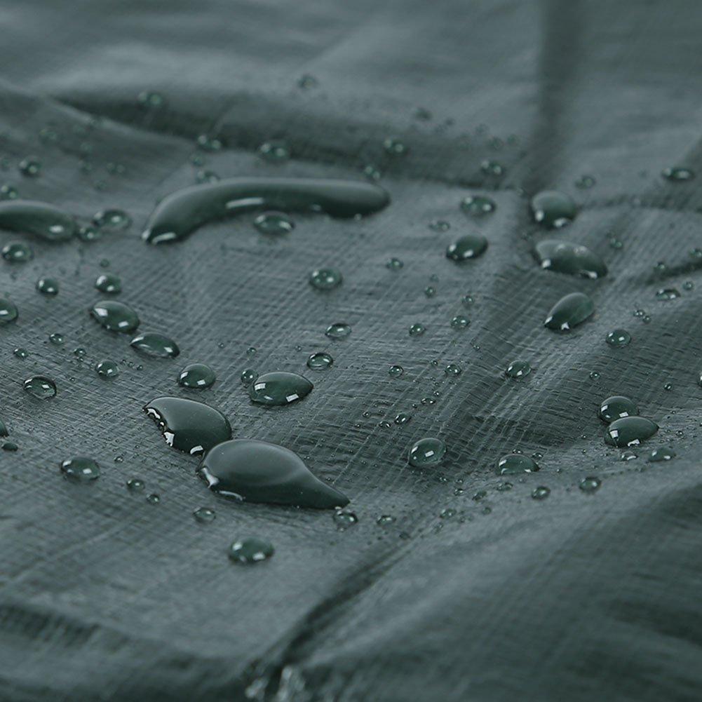 AJZXHE Staubdichter Winddichter Plastikstoff der Plane regenwasserdichter Logistik-LKW-Bau korrosionsBesteändig Anti-Altern, Anti-Altern, Anti-Altern, dunkelgrün -Plane B07JFBHCHX Abspannseile Ausgezeichneter Wert 41b815