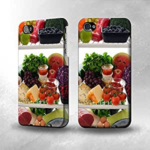 Apple iPhone 4 / 4S Case - The Best 3D Full Wrap iPhone Case - Refrigerator