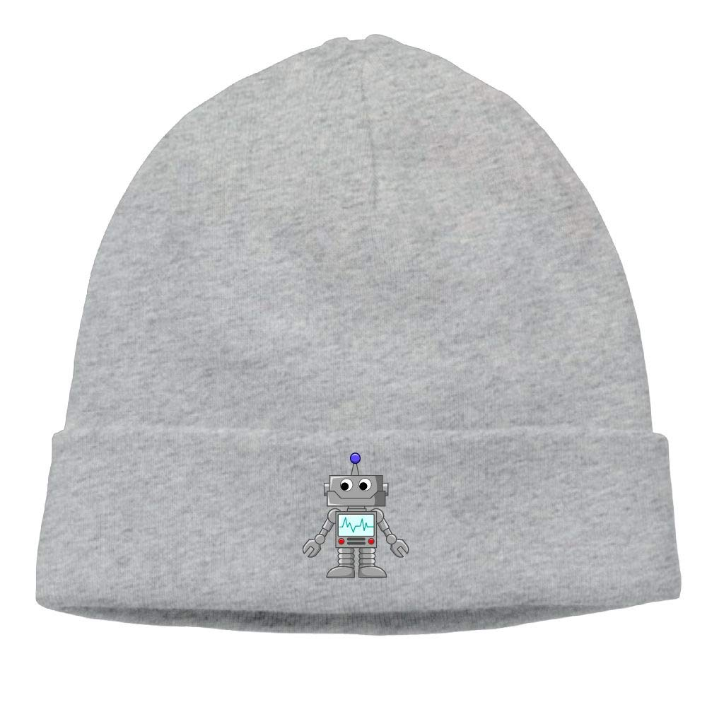 007dcd9e nordic runes Robot Beanie Hat Winter Warm Knit Skull Cap for Mens ...