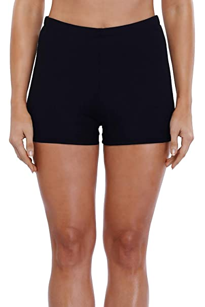 a64ffc3c93 Sociala Womens Swim Shorts Boardshort Tankini Shorts Swimsuit Shorts Black 8