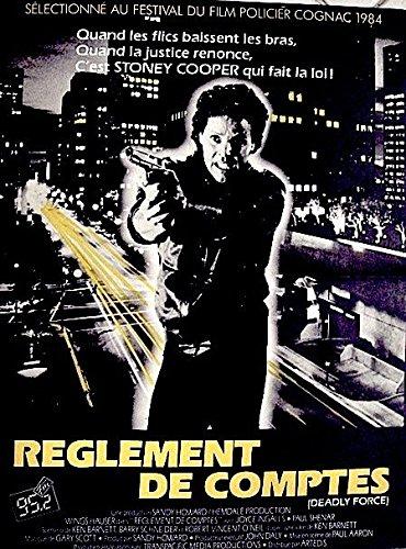 Liquidación De cuentas-1984-116 cm x 158-Cartel Cinema ...