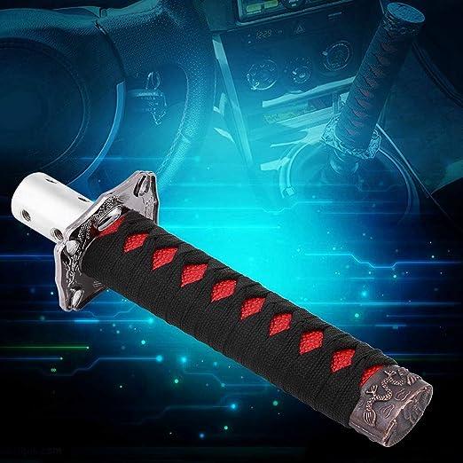 Universal Schaltknauf Für Automobil Schaltgetriebe Japanisches Schwertdesign Mit 4 Adaptern Auto