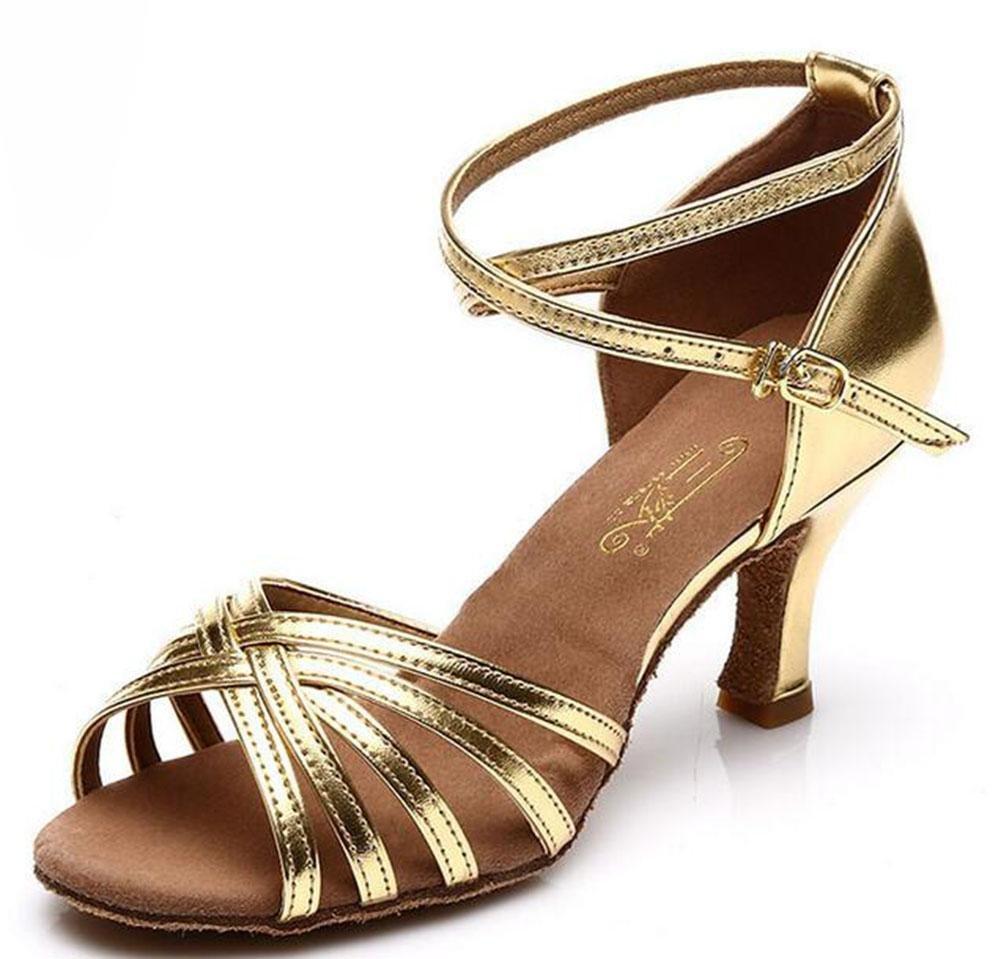 KUKI Latin Dance Schuhe mit Tanzschuhe für Soft-Soled für den Innenbereich