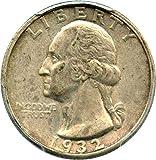 1932 S Washington Quarters (1932-98) Quarter AU50 PCGS