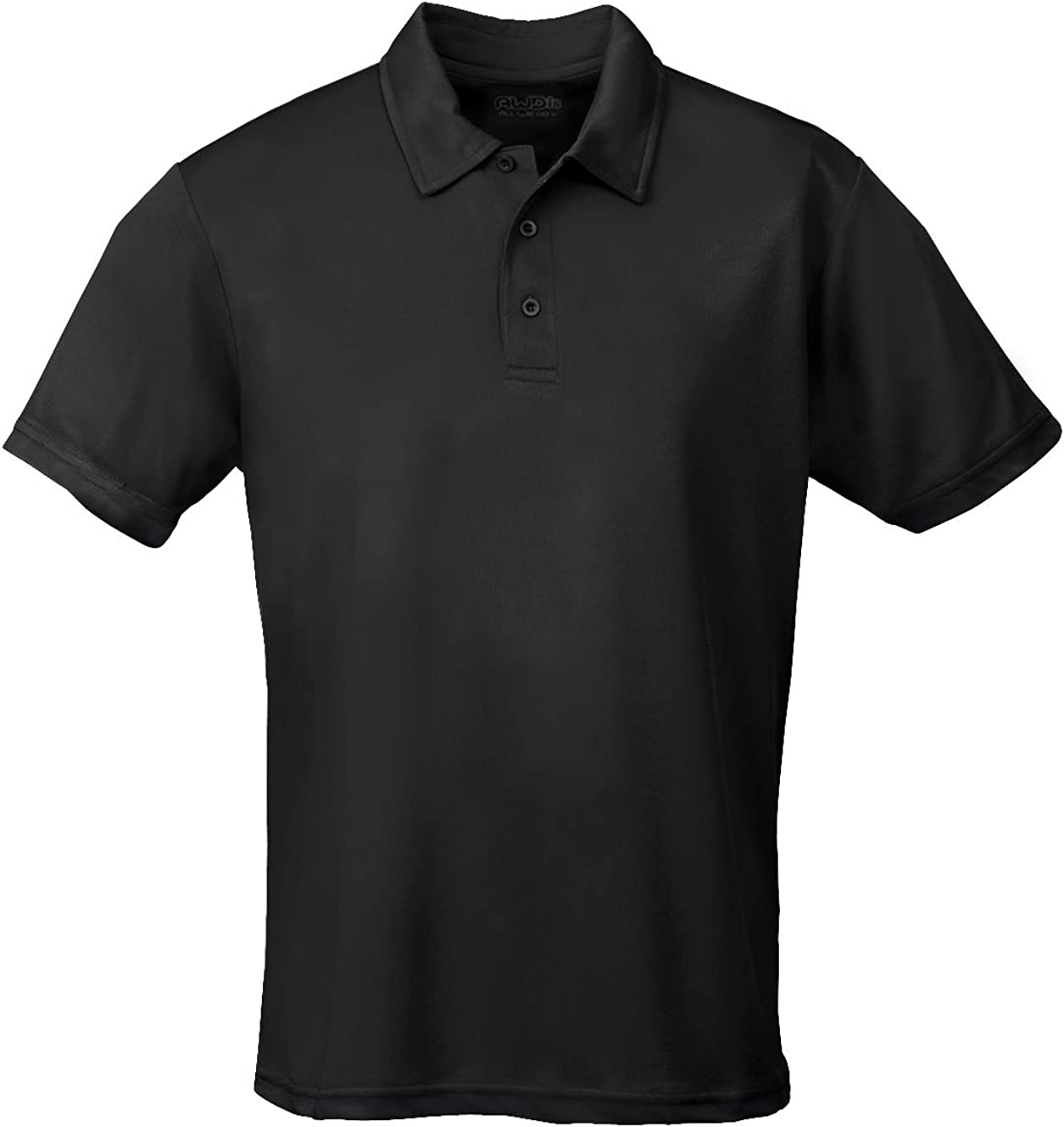 AWD Just Cool Breathable Cool Polo Shirt Jet Black S
