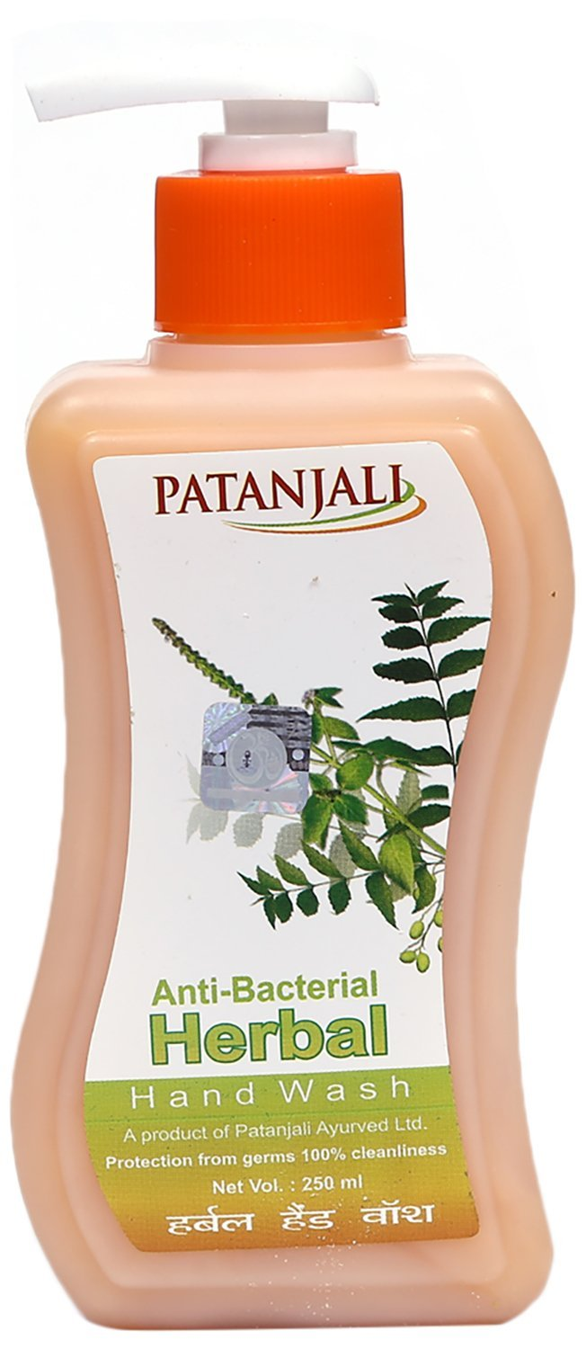Buy Patanjali Herbal Hand Wash 250 Ml Online At Low Prices In Dettol Sensitive 200 Pouch 2 Pcs India