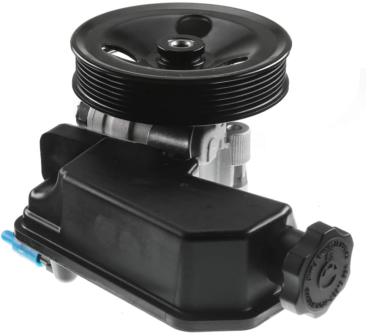 A-Premium Power Steering Pump with Reservoir and Pulley Compatible with Dodge Dakota 2005-2007