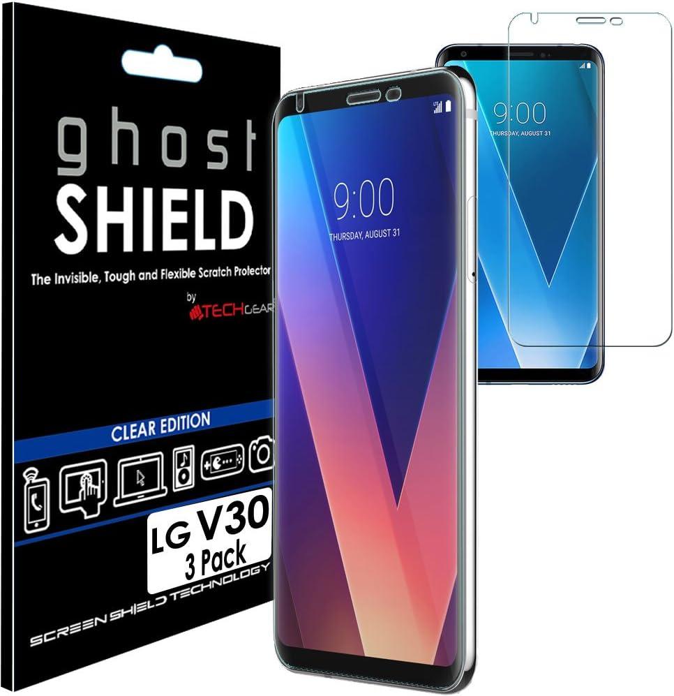 TECHGEAR [3 Piezas Protector de Pantalla Compatible con LG V30 ...
