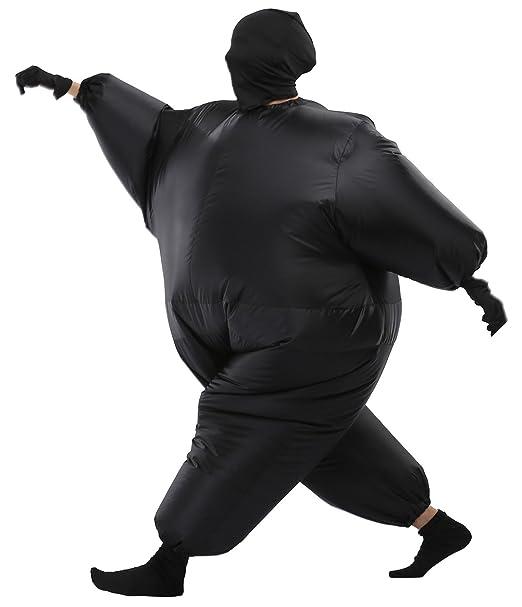 Amazon.com: sasalo adulto traje de cuerpo completo hinchable ...