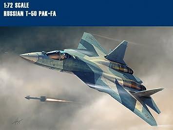 ASENER Sukhoi 1/72 Escala T50 PAK-FA Aviones De Combate ...