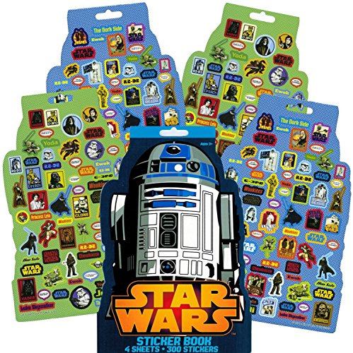 Classic Star Wars Stickers 300