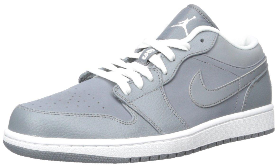 Jordan Nike Men's Air 1 Low Basketball Shoe B00IWYYXIQ 8 D(M) US|Cool Grey/White/Cool Grey