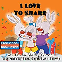 I Love to Share  (I Love to...Bedtime stories children's books collection Book 7)