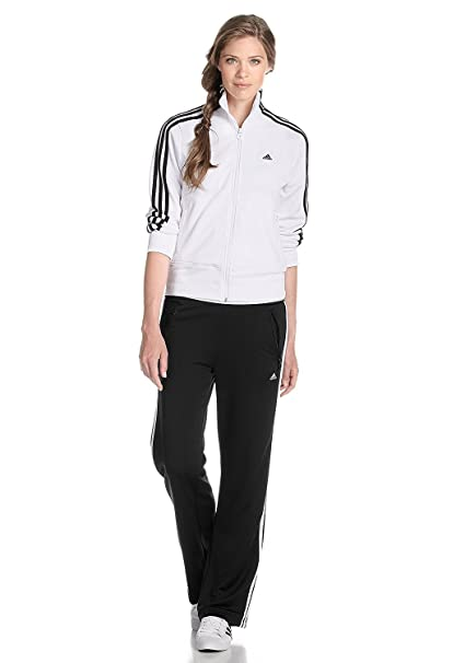 adidas Performance - Chándal - para mujer blanco y negro 34 ...
