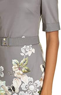 228d77bfd1df5a Amazon.com  Ted Baker Women s Jayer Gem Gardens Fitted Dress