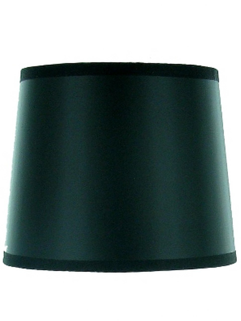 Upgradelights Black with Gold Foil Lining 5 Inch Drum Chandelier Clip On Shade (4x5x5)