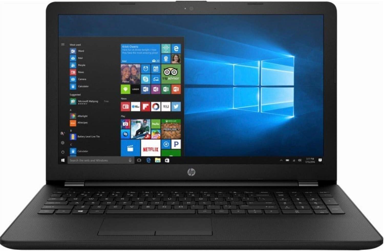 2019 HP Flagship 15.6-inch HD WLED-Backlit Laptop PC, AMD Dual-Core A6-9225 2.6GHz Processor, 4GB DDR4 SDRAM, 1TB HDD, DVD-RW, Bluetooth, USB 3.1, HDMI, WiFi, AMD Radeon Graphics, Webcam, Windows 10