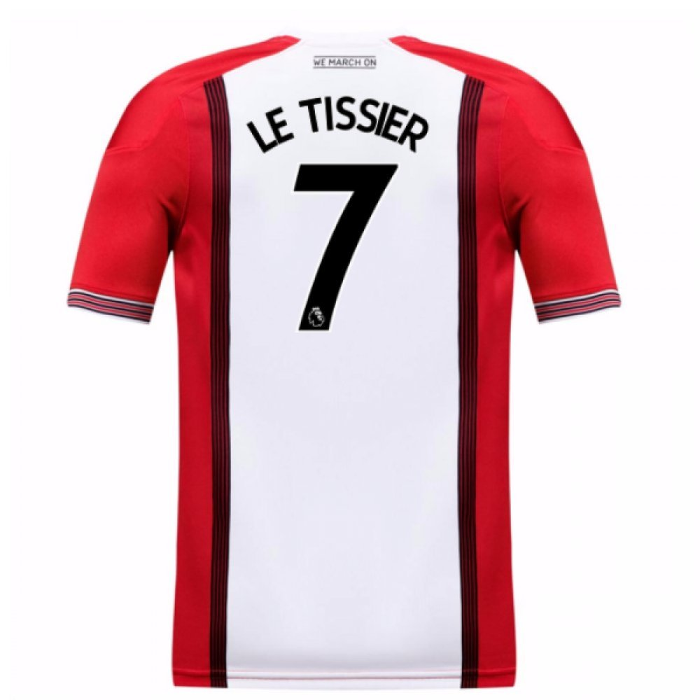 2017-18 Southampton Home Football Soccer T-Shirt Trikot (Matt Le Tissier 7) - Kids