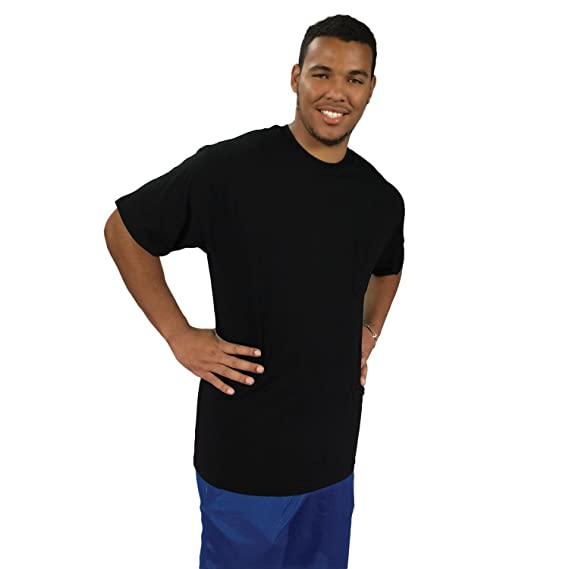 92fac19d Amazon.com: Big Boy Bamboo Tall Crew Neck T-Shirt for Men – Short Sleeve Tee  with Crew Neck, Made of Ultra-Soft Bamboo: Clothing