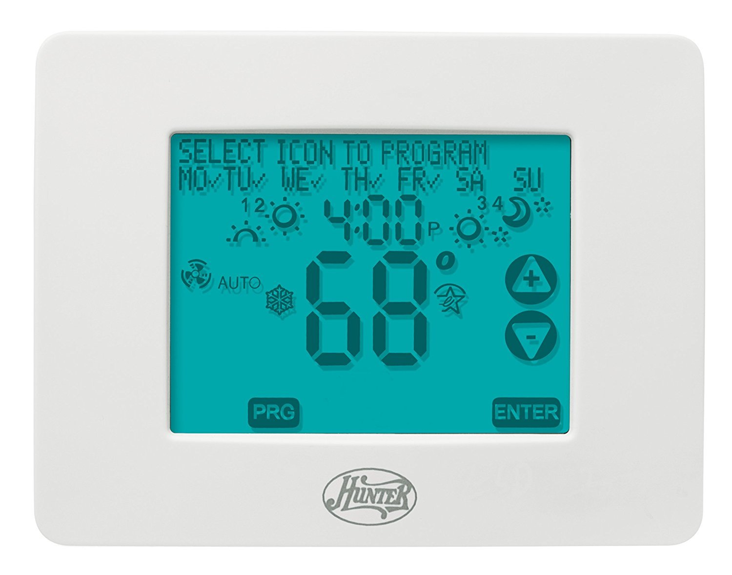 Hunter 44860 Universal 2H/2C Touchscreen Thermostat - Programmable  Household Thermostats - Amazon.com