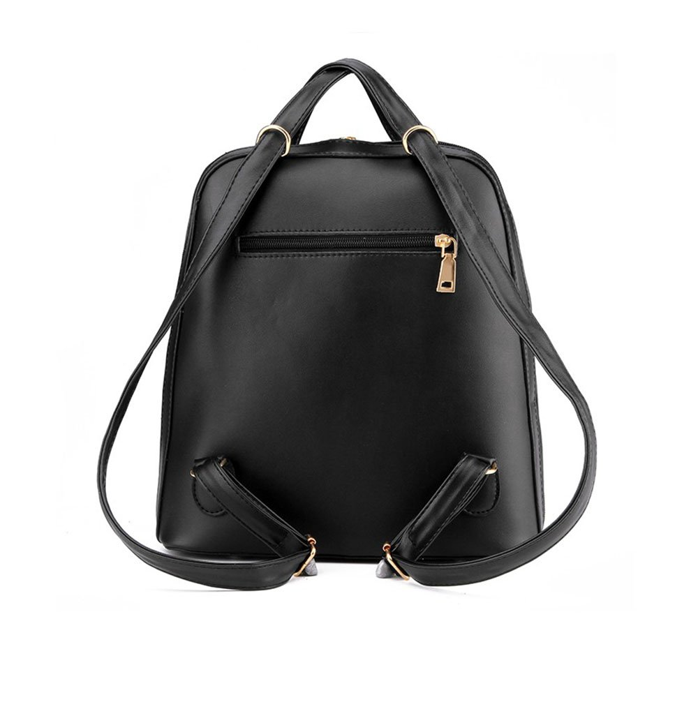 1345c24f4e Amazon.com  Ms. bag shoulder bag fashion handbags Korean tidal backpack  college wind pu leather travel bag  Sports   Outdoors
