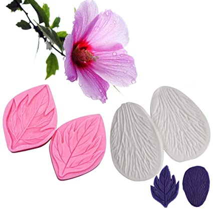 Amazon Ak Art Kitchenware Gum Paste Flower Veining Molds