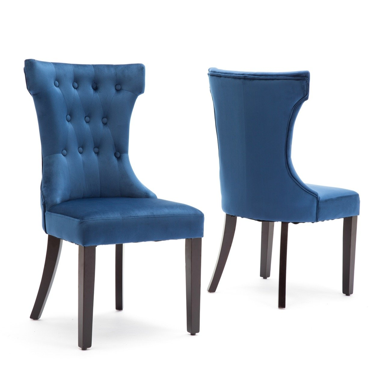 Pleasant Details About Belleze 2 Pcs Dining Chair Upholstered Armless Accent Side Chair Home Kitchen Caraccident5 Cool Chair Designs And Ideas Caraccident5Info