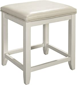 Crosley Furniture Vista Vanity Stool, White