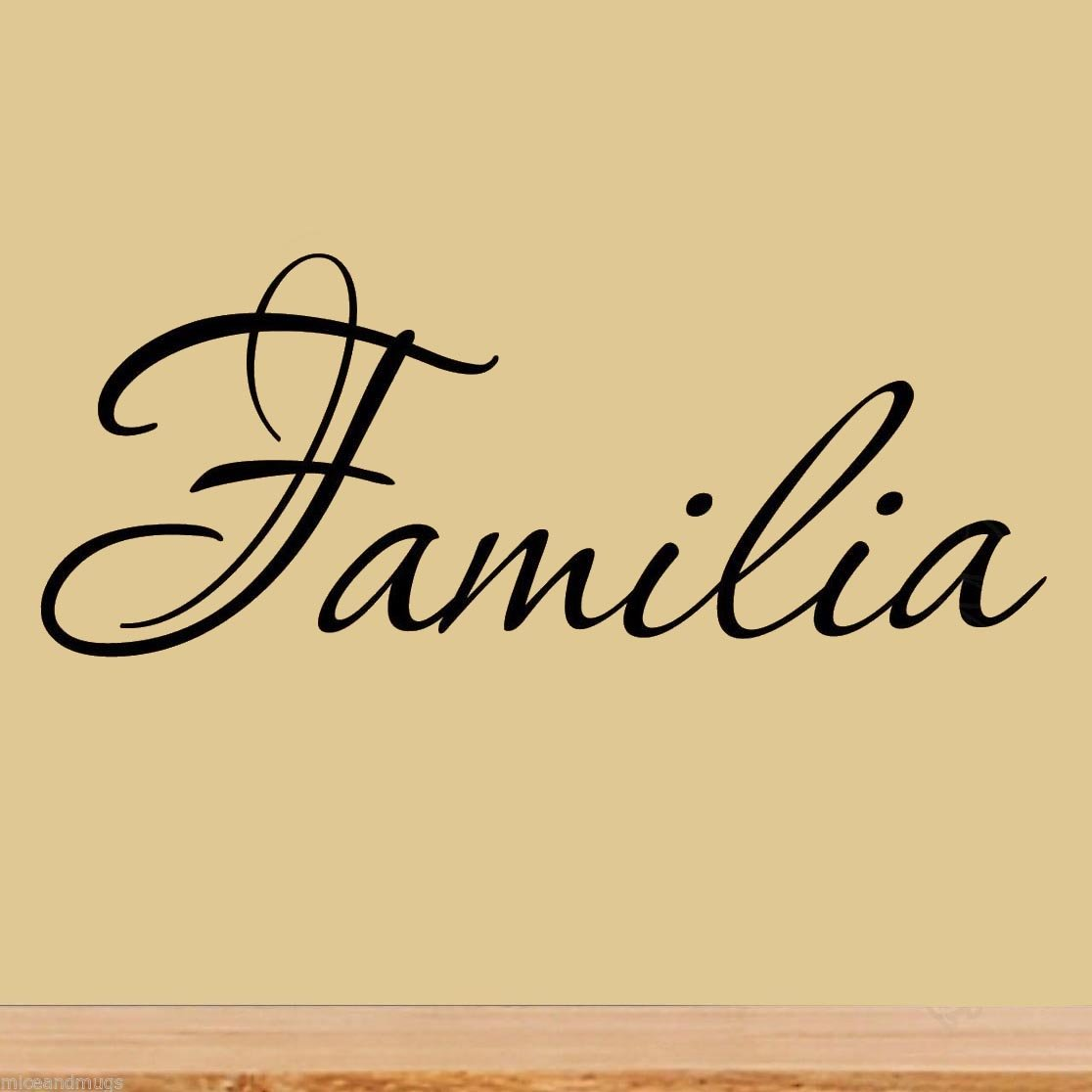 Amazon.com: Familia Wall Decal Spanish Wall Decals Sayings Family ...