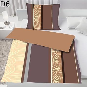Dreamhome24 2 Tlg Fleece Flausch Wende Bettwäsche Microfaser Sommer