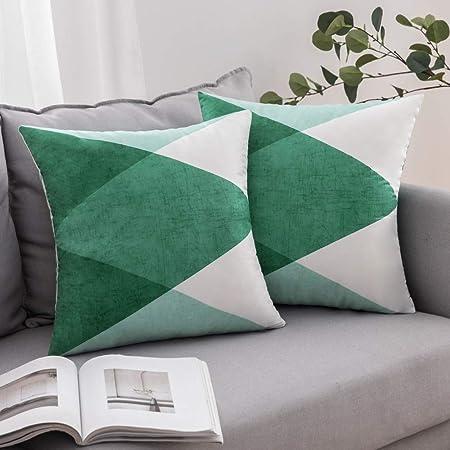 MIULEE 45X45CM Scandinave Décorative Housse de Coussin Motifs Géométriques Taie d'oreiller Canapé Taille Throw Housse de Coussin Maison Décoration 2