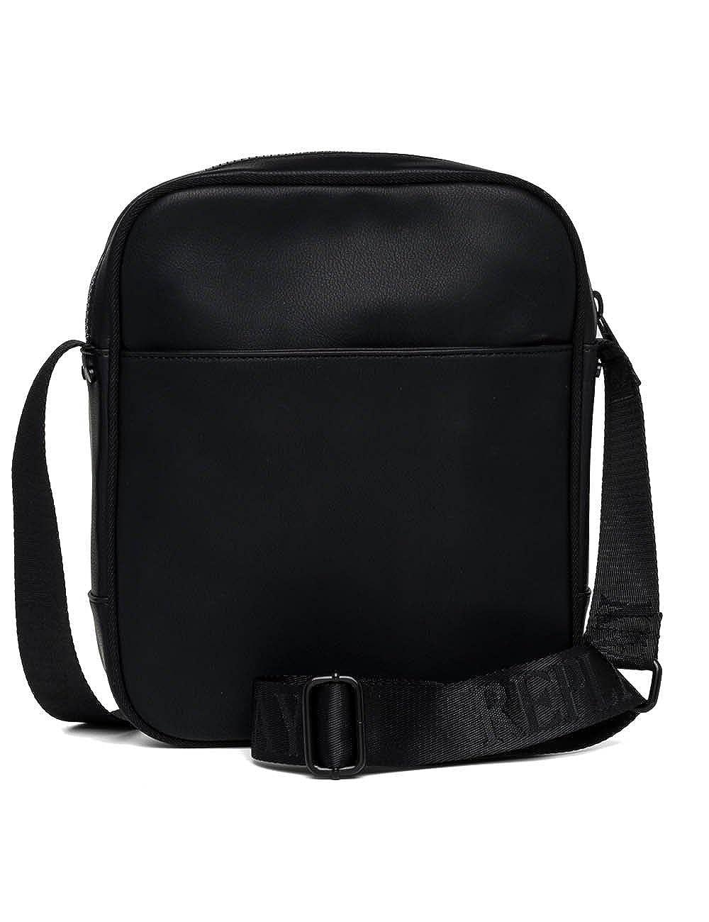 1b4f8c044f4e Replay Men s Men s Eco-Leather Black Cross-Body Bag Black  Amazon.ca  Shoes    Handbags