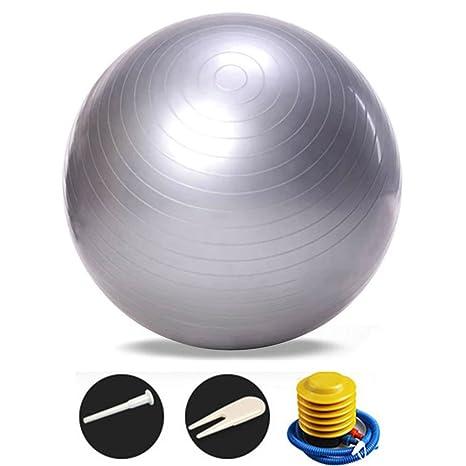 soekavia balón de ejercicio con bomba de balón de gimnasia/fitness ...